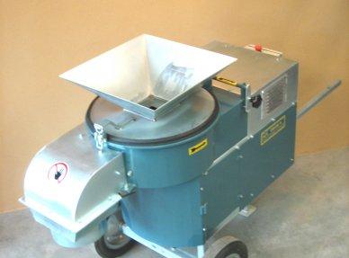 Pulverizador energéticamente eficiente de 7,5 kW para triturar materias primas. Con colador intercambiable