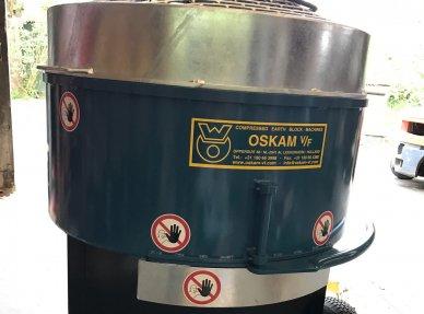 Mixer 325 Liter rotor 60% mixing capacity 5.5 kW / 400V electric motor