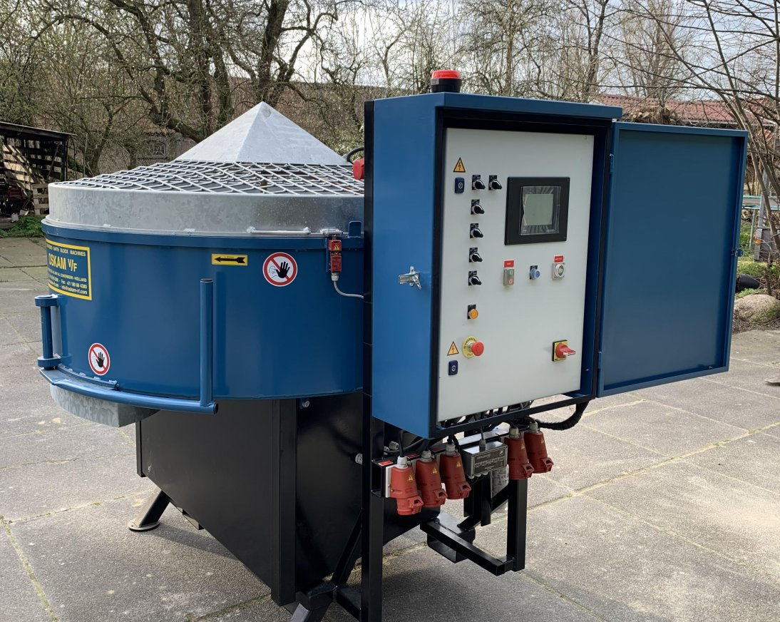 Stationary mixer 800 liters